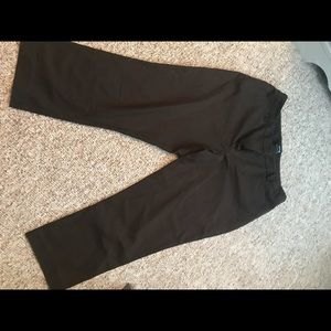 Crop dress pants
